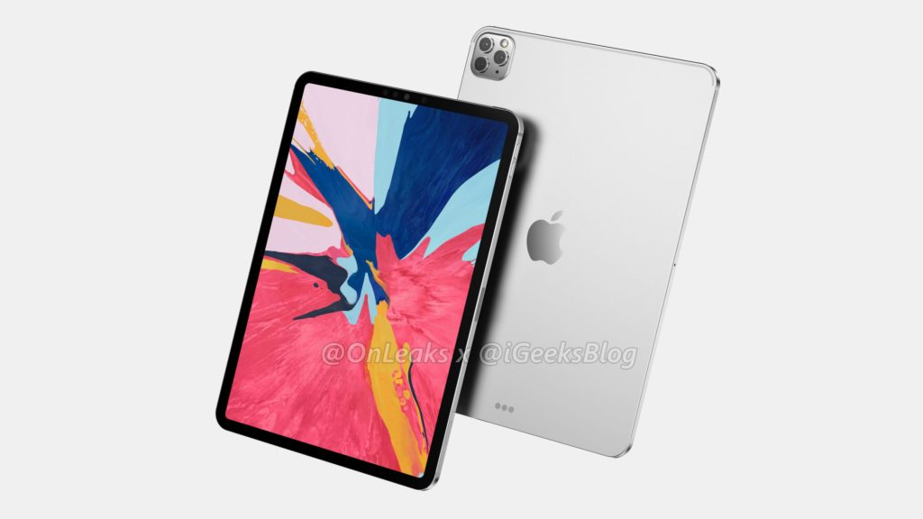 First Render Concept 2020 iPad from @OnLeaks